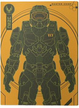 Lerretsbilde Halo: Infinite - Master Chief Tech