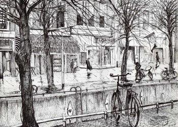 Lerretsbilde Harlingen Holland, 2005,