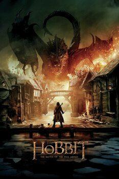 Lerretsbilde Hobbiten - Smaug