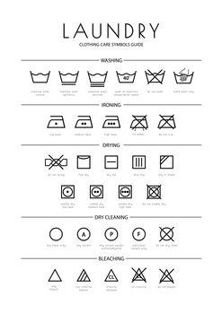 Laundry Lerretsbilde