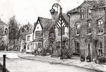 Lerretsbilde Leigh Arms Prestbury, 2009,