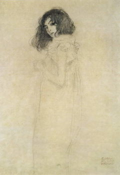 Lerretsbilde Portrait of a young woman, 1896-97