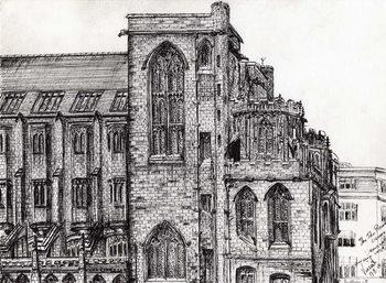 Lerretsbilde Rylands Library Manchester, 2007,