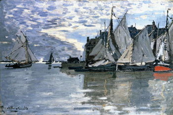 Lerretsbilde Sailing Boats, c.1864-1866
