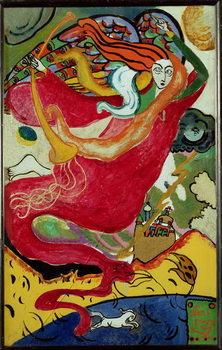 Lerretsbilde St. Gabriel, 1911