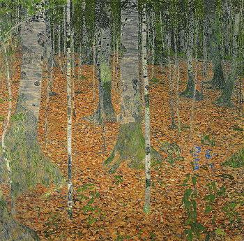 Lerretsbilde The Birch Wood, 1903