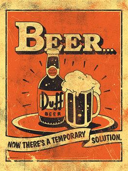 Lerretsbilde The Simpsons - Beer...