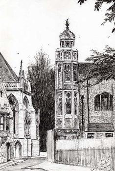 Lerretsbilde Trinity Street Cambridge, 2008,