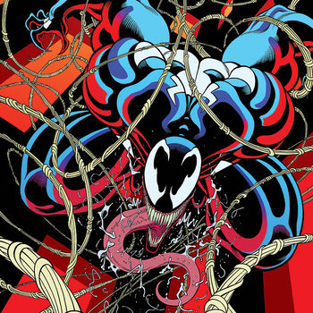 Lerretsbilde Venom - Symbiote free fall