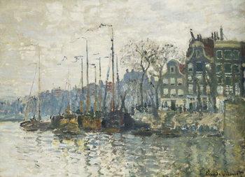 Amsterdam, 1874 Lerretsbilde