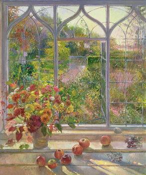 Autumn Windows, 1993 Lerretsbilde