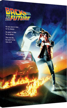 Back to the Future - One Sheet Lerretsbilde