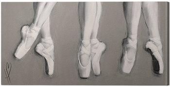 Hazel Bowman - Dancing Feet Lerretsbilde