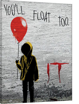 IT - Georgie Graffiti Lerretsbilde