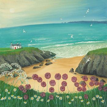 Jo Grundy - Ocean Breeze Lerretsbilde