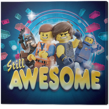 Legofilmen 2 - Still Awesome Lerretsbilde