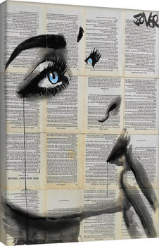 Loui Jover - Never Know Again Lerretsbilde