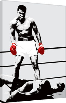 Muhammad Ali - Gloves - Corbis Lerretsbilde
