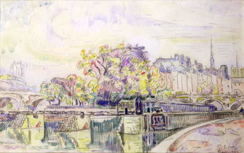 Paris, 1923 Lerretsbilde