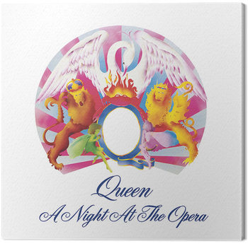 Queen - A Night at the Opera Lerretsbilde