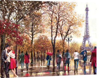 Richard Macneil - Eiffel Tower Lerretsbilde
