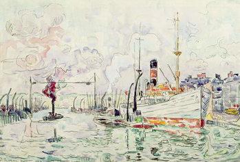 Rouen, 1924 Lerretsbilde
