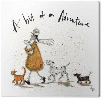 Sam Toft - A Bit of an Adventure Lerretsbilde