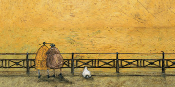 Sam Toft - A Romantic Interlude Lerretsbilde