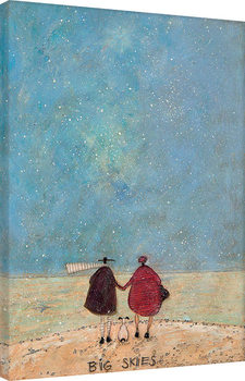 Sam Toft - Big Skies Lerretsbilde
