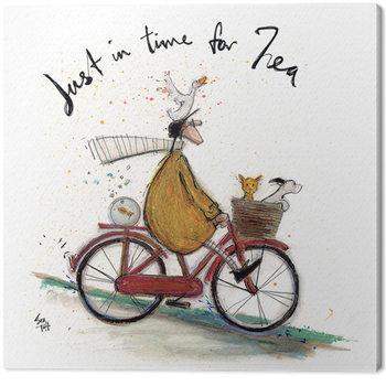 Sam Toft - Just in Time for Tea Lerretsbilde