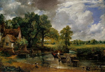 The Hay Wain, 1821 Lerretsbilde