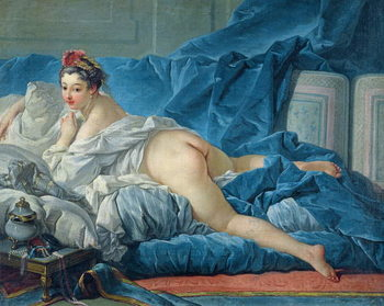 The Odalisque, 1745 Lerretsbilde