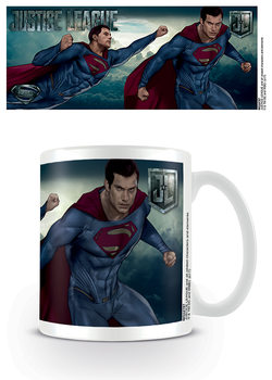 Taza Liga de la Justicia - Superman Action