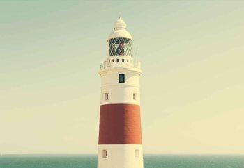 Γυάλινη τέχνη Lighthouse By The Sea