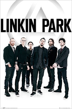 Linkin Park - group - плакат (poster)
