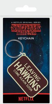 Llavero Stranger Things - Leaving Hawkins