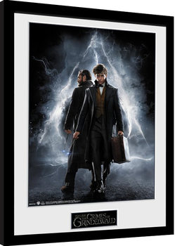 Animali fantastici: I crimini di Grindelwald - One Sheet Poster Incorniciato