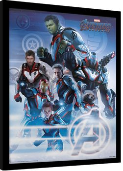 Avengers: Endgame - Quantum Realm Suits Poster Incorniciato