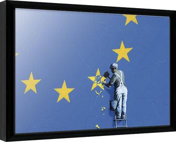 Poster incorniciato Banksy - Dover