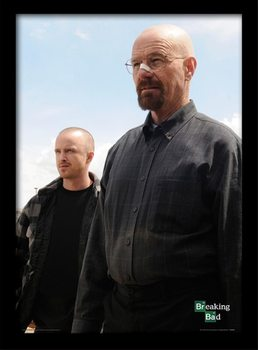 BREAKING BAD - walter & jesse locandine Film in Plexiglass