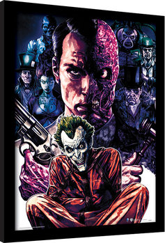 DC Comics - Criminally Insane Poster Incorniciato