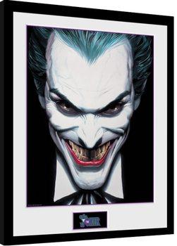 DC Comics - Joker Ross Poster Incorniciato