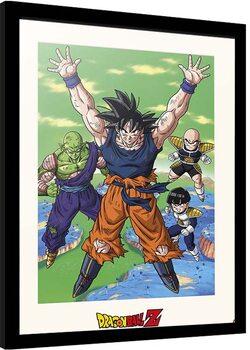 Poster incorniciato Dragon Ball - Spirit Bomb