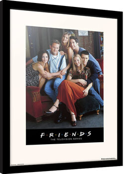 Poster incorniciato Friends - Characters