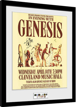 Poster incorniciato Genesis - Cleveland