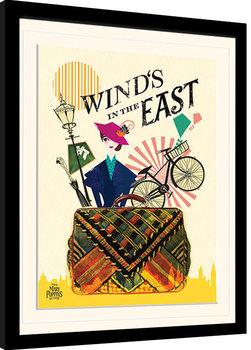 Il ritorno di Mary Poppins - Wind in the East Poster Incorniciato