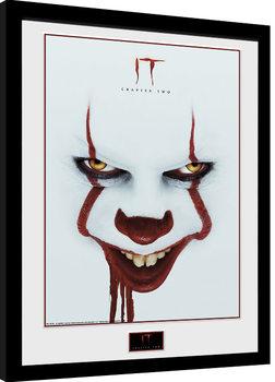 IT - Capitolo due - Face Poster Incorniciato