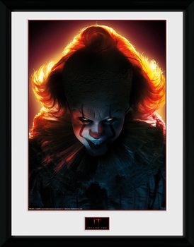 IT - Capitolo due - Pennywise Poster Incorniciato