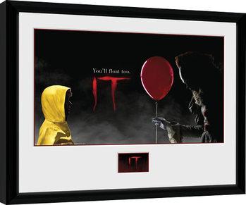 Poster incorniciato IT - Float