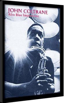 JOHN COLTRANE - afro blue impressions Poster Incorniciato